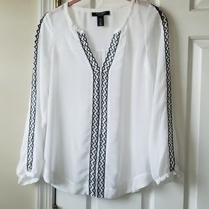 WHBM blouse.  Sz 00P